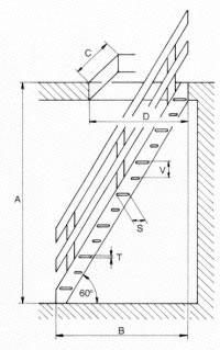 Scale a chiocciola scale da interni scale retrattili for Scala in legno dwg