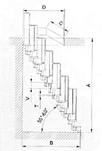 Quick link di turolla scale retrattili a for Scala in legno dwg
